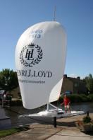 Totale refit j22 wedstrijd zeilboot in Harlingen